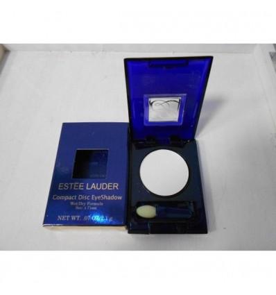 Estee Lauder Compact Disc EyeShadow Dry Formula. Color Blanco