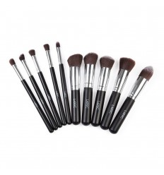 LAROC KABUKI SET BRUSH ROSTRO Y OJOS 10 BROCHAS