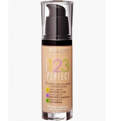 BOURJOIS 123 PERFECT BASE MAQUILLAJE 16H Nº 56 BEIGE ROSE 30 ml