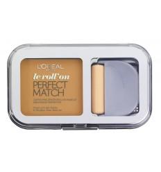 L'ORÉAL LE ROLL ON PERFECT MATCH POLVOS COMPACTOS W5/D5 GOLDEN SAND