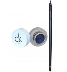Calvin Klein Eyeliner gel con pincel 400 Blue Haze