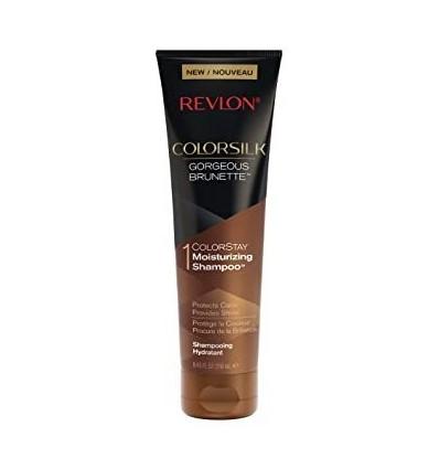 REVLON COLORSILK CHAMPÚ cabellos MORENOS 250 ml