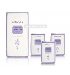 Yardley English Jabón Lavanda 3 x 100g