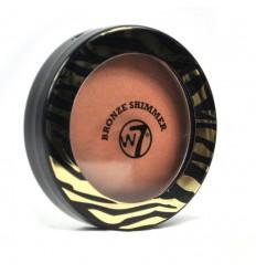 W7 Bronze Shimmer Polvos Compactos Bronceador brillo 14g