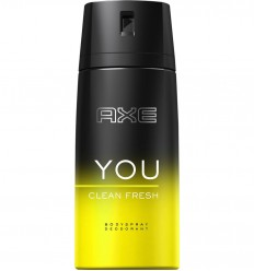 AXE YOU CLEAN FRESH DESODORANTE SPRAY 150 ml
