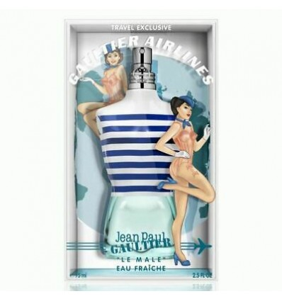 Jean Paul Gaultier Edición Especial Vintage Gaultier Airlines Le Mâle Eau Fraîche Eau de Toilette para hombres.