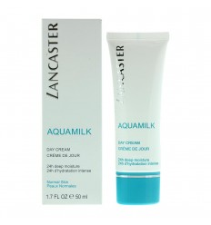 LANCASTER AQUAMILK CREMA DE DIA 24H HIDRATACIÓN P NORMAL 50 ML