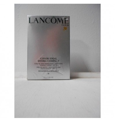 LANCÔME COLOR IDEAL HYDRA COMPACT SPF 10 MAQUILLAJE 04 BEIGE NATURE