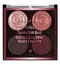 Wet N Wild Coloricon Eye Shadow Quad Tono Bed Of Roses