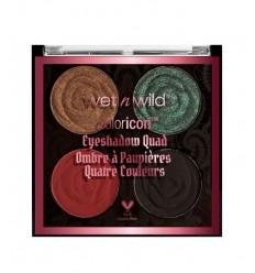 Wet N Wild Coloricon Eye Shadow Quad Tono House Of Thorns