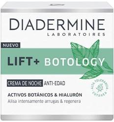 Diadermine LIFT+ Botology Crema Antiedad de Noche con Hialurón y Activos Botánicos 50 ml ALTA TOLERANCIA