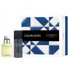 CALVIN KLEIN ETERNITY FOR MEN EDT 100 ML SPRAY + DEO SPRAY 150 ML