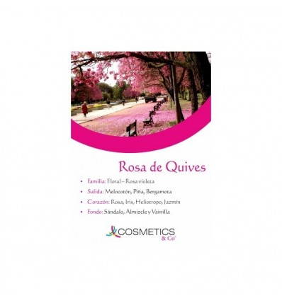 ROSA DE QUIVES EDT 100ML MUJER