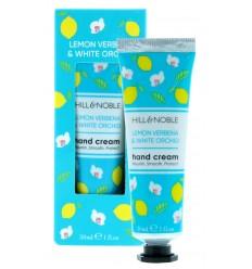Hill & Noble Crema Manos Lemon Verbena - White Orchid Nutritiva Hidratante 30 ml
