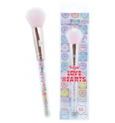 Swizzels Love Hearts Filled Blusher Brush Brocha Colorete Vegan Friendly