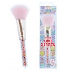 Swizzels Love Hearts Powder Brush Brush Brocha Polvos Vegan Friendly