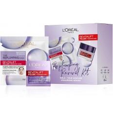 Loreal Revitalift Filler Pack Edicion Limitada Crema dia 50 ml + Mascarilla Filler con Ácido Hialurónico