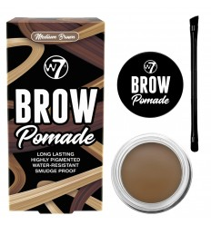 W7 Brow Pomade Long Lasting Pomada Cejas Tono Medium Brown
