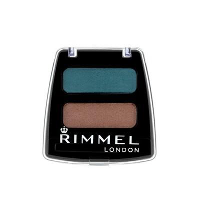 RIMMEL LONDON COLOUR RUSH DUO EYE SHADOW 601 SOFT GLAM 3.5 GR
