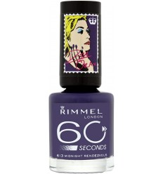 RIMMEL 60 SECONDS ESMALTE 613 MIDNIGHT RENDEZVOUS 8 ML