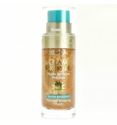 L'Oréal Glam Bronze Bronceador Fluido Resitente al Agua 04 Brunetes