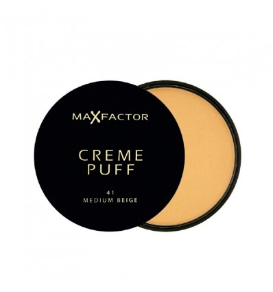 Max Factor Creme Puff Maquillaje 55 Candle Glow
