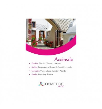 ACCIREALE EDT 100ML MUJER
