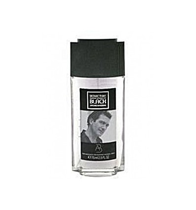 ANTONIO BANDERAS SEDUCTION IN BLACK PERFUMED BODY DEOSORANT 75 ML NATURAL SPRAY