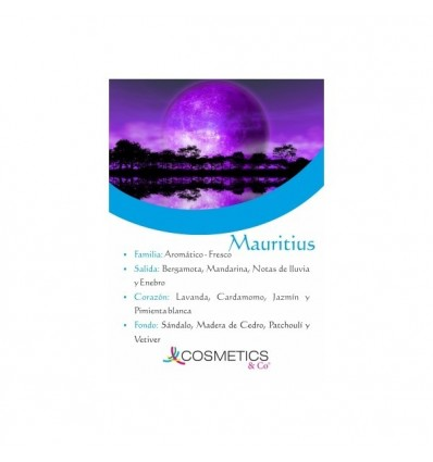 MAURITIUS EDT 100 ml vapo HOMBRE