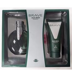AGUA BRAVA BRAVE EDT 100 ML SPRAY + AFTER SHAVE 100 ML