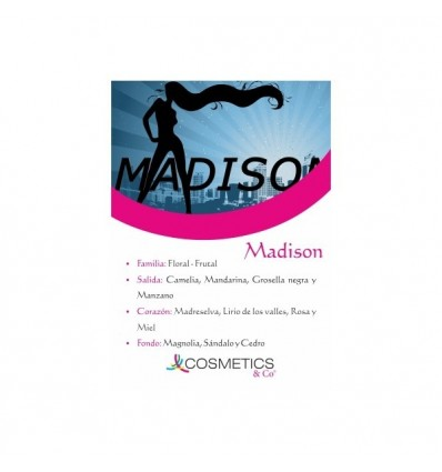 MADISON EDT 100ML MUJER