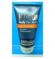 NELLY FOR MEN FACE ON GEL LIMPIADOR 150 ML