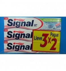 SIGNAL 3X2 PASTA DENTAL PROTECCIÓN ANTICARIES 3 x 75 ml