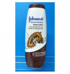 JOHNSONS LOCIÓN CORPORAL COCOA & HONEYBUSH 200ML AFRICAN NURTURE