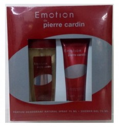 PIERRE CARDIN EMOTION PARFUM DEODORANT 75 ml + GEL 75 ml WOMAN