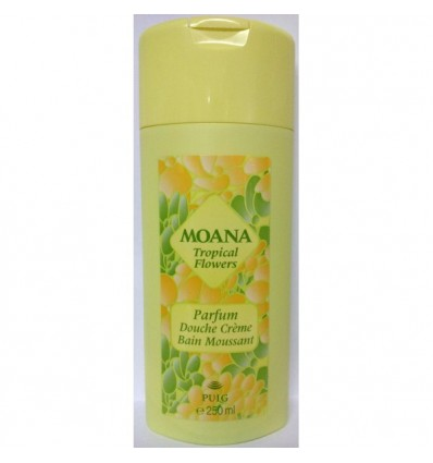 MOANA TROPICAL FLOWERS GEL DE DUCHA CREMOSO 250 ML
