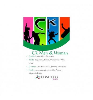 Ck Men & Woman EDT 100ML