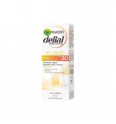 GARNIER DELIAL CREMA PROTECCION SOLAR FACIAL FLUIDA SPF 30 50 ml