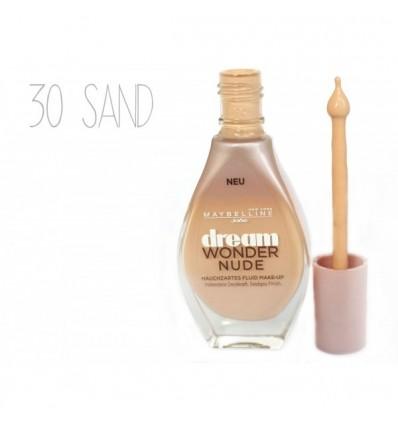 MAYBELLINE MQ DREAM WONDER NUDE Nº30 SAND 20ML