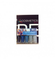 GUYLOND PARIS BLUE PACK 5 mini lacas de uñas