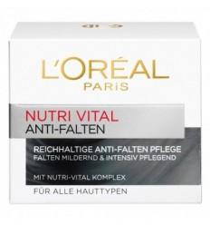 L'ORÉAL NUTRI VITAL CREMA NUTRITIVA ANTIARRUGAS DIA 50 ml