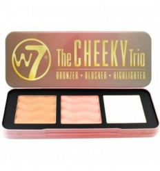 W7 THE CHEEKY TRIO BRONZER-BLUSHER-HIGHLIGHTER 21G
