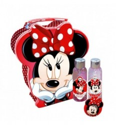 MINNIE LATA HUCHA GEL 60 ml + BODY MILK 60ml + BÁLSAMO LABIAL 5 g