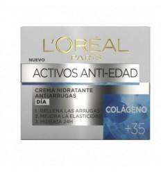 L`ORÈAL ACTIVOS ANTI-EDAD CREMA DÍA COLÁGENO +35 50 ML
