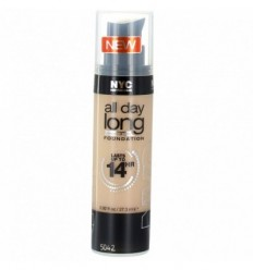 NYC ALL DAY LONG 14H MAQUILLAJE 740 WARM BEIGE