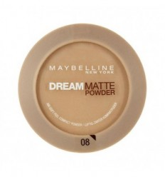 MAYBELLINE DREAM MAT POWDER POLVOS FACIALES 08 GOLDEN SAND 9G