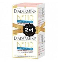 DIADERMINE Nº 110 CREMA ILUMINADORA ANTIEDAD DIA DUPLO ( 2 x 50 ml )