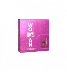 MTV WOMAN EDT 50 ml SPRAY + BODY LOTION SHIMMER 100 ml
