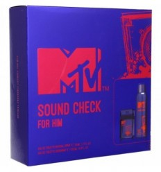 MTV SOUND CHECK FOR HIM EDT 50 ml SPRAY + DEO SPRAY 200 ml