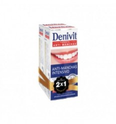 DENIVIT ANTI-MANCHAS INTENSIVO CREMA DENTAL 50 ML 2 X 1